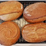Different Slash Signatures on Sourdough Bread Baked by Paul Kaan