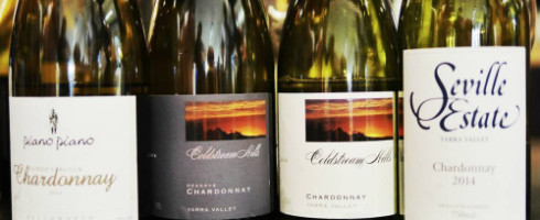 Victorian Wine Show 2015 Winning Chardonnays by Paul Kaan